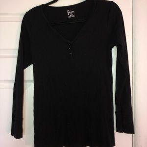 Black long sleeve felina shirt!